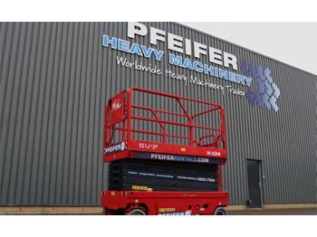 Scissor lift Magni ES1212E Valid inspection, *Guarantee! Electric, 12
