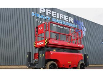 Scissor lift Magni ES1418RT New And Available Directly From Stock, El