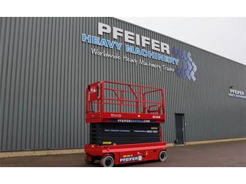 Scissor lift Magni ES1612E Available Directly From Stock, Electric, 1