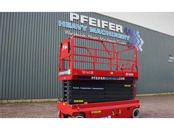 Scissor lift Magni ES1612E Valid inspection, *Guarantee!, Electric, 1