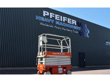 Scissor lift UpRight MX19 Electric, 7.8m Working Height, Non Marking Ty