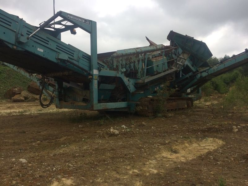POWERSCREEN Warrior 1800 screener from United Kingdom for sale at