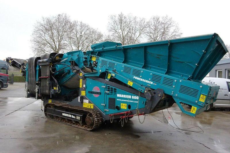 Screener Terex Powerscreen Warrior 600 DEMO - Truck1 ID: 3472558