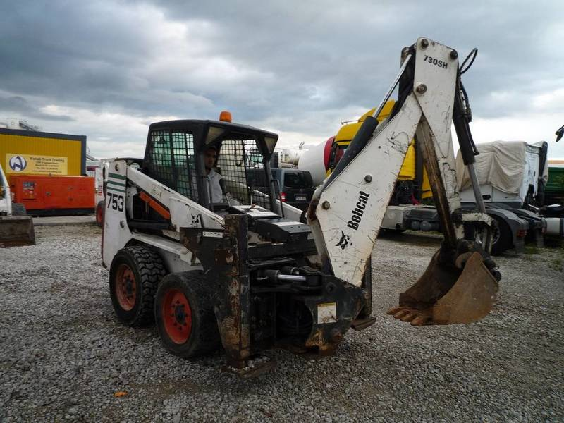 Bobcat 753 Skid Steer Loader From Germany For Sale At Truck1 Id