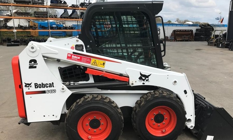 Skid steer loader Bobcat S450 - Truck1 ID: 3647654