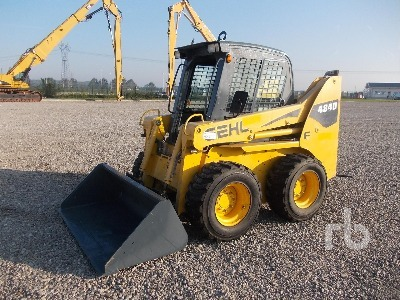 Gehl SL4840 High Flow skid steer loader from Italy for sale