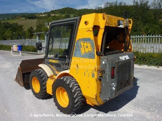 Jcb Robot 185 Hf Skid Steer Loader From Italy For Sale At