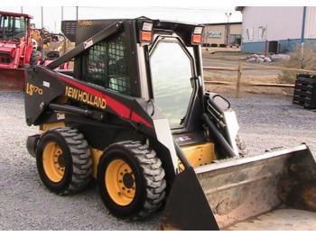 New Holland LS170 - skid steer loader