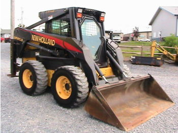 New Holland LS185.B - skid steer loader