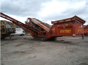 Statie sortare mobila Extec S 3 screening plant  - construction machinery