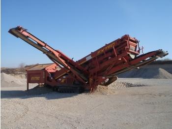 Statie sortare mobila Extec S 4 Sandvik QA 240 - SH  - construction machinery