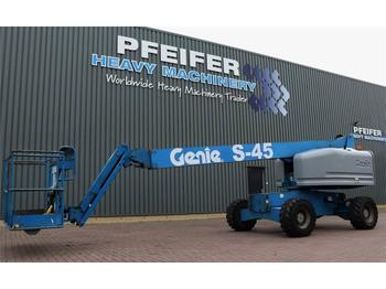 Telescopic boom Genie S45/4WD Diesel, 4x4 Drive, 15.7m Working Height, J