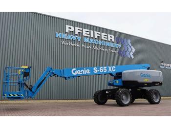 Telescopic boom Genie S65XC Diesel, 4x4 Drive, Xtra Capacity 454 kg, 22m