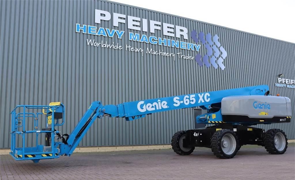 telescopic boom Genie S65XC Valid inspection, *Guarantee! Diesel, 4x4 Dr