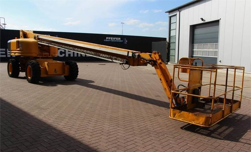 Telescopic boom Genie S85/4WD: picture 7