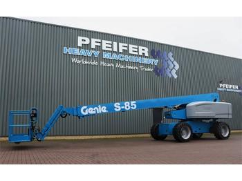 Telescopic boom Genie S85/4WD Valid inspection, Completely Refurbished *