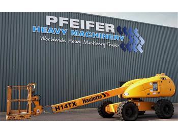 Telescopic boom Haulotte H14TX Diesel, 4x4 Drive, 14,07m Working Height, 10
