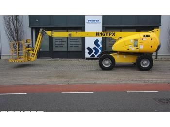Telescopic boom Haulotte H16TPX Diesel, 4x4 Drive, 16m Working Height, Roug