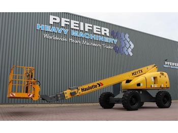 Telescopic boom Haulotte H21TX Diesel, 4x4 Drive, 20.85m Working Height, 17