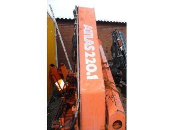 Atlas 220.1 Ladekran mit Funksteurung, - tower crane