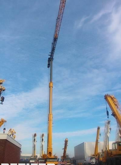 tower crane Liebherr MK140 PLUS