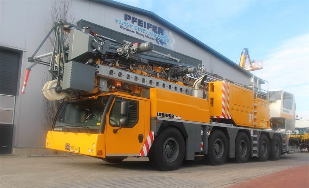 tower crane Liebherr MK140 PLUS Valid Inspection, 10x6x10 Drive, 8t Cap