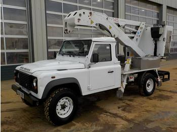 2011 Landrover Defender 4WD, 6 Speed, CMC UV145 Access Platform (Reg. Docs. Available) - truck mounted aerial platform
