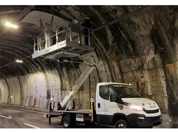 Truck mounted aerial platform Comet Solar 15 New, 15m Working Height, 4m Reach, 400kg