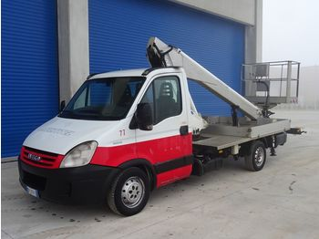 IVECO DAILY 35S10 PAGLIERO MULTITEL 160ALU/DS - truck mounted aerial platform