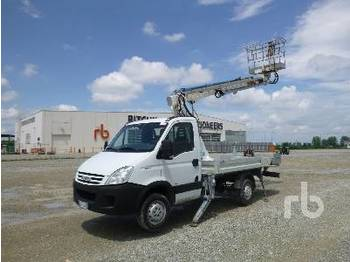 Truck mounted aerial platform IVECO DAILY 35S12 w/2002 Cela Aquila 16