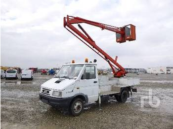 IVECO DAILY 35.8 w/1990 Man-Meccanica AL127 - truck mounted aerial platform