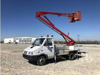 Truck mounted aerial platform IVECO DAILY 35.8 w/1990 Man-Meccanica AL127