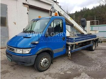 IVECO DAILY 65 C 17 17 m-es Emelőkosaras - truck mounted aerial platform