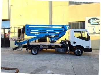 Truck mounted aerial platform Isoli PNT 205 NH Nissan cabstar