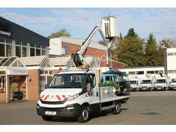 Truck mounted aerial platform Iveco Daily 35C13 Bühne Versalift 11m /849h/Klima/AHK