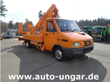 Truck mounted aerial platform Iveco Daily II E49 Bison TA17 Stematec Hubarbeitsbühne Lift Steiger: picture 1
