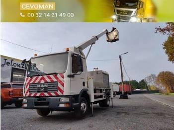Truck mounted aerial platform MAN TGL 12.180 Hoogwerker Palfinger Bison TKA17