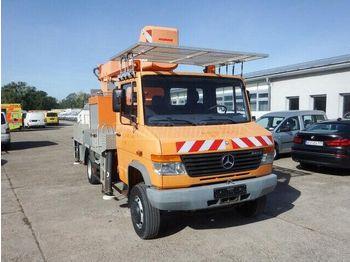 MERCEDES-BENZ Vario 814 17 m-es Emelőkosaras - truck mounted aerial platform