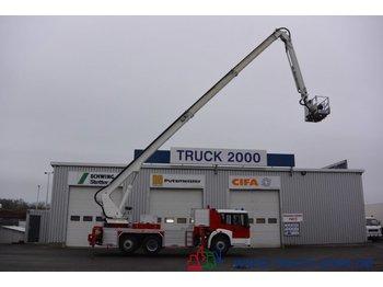 Truck mounted aerial platform Mercedes-Benz 2628 Arbeitshöhe 32.8 m Korb 400Kg. 4 Personen