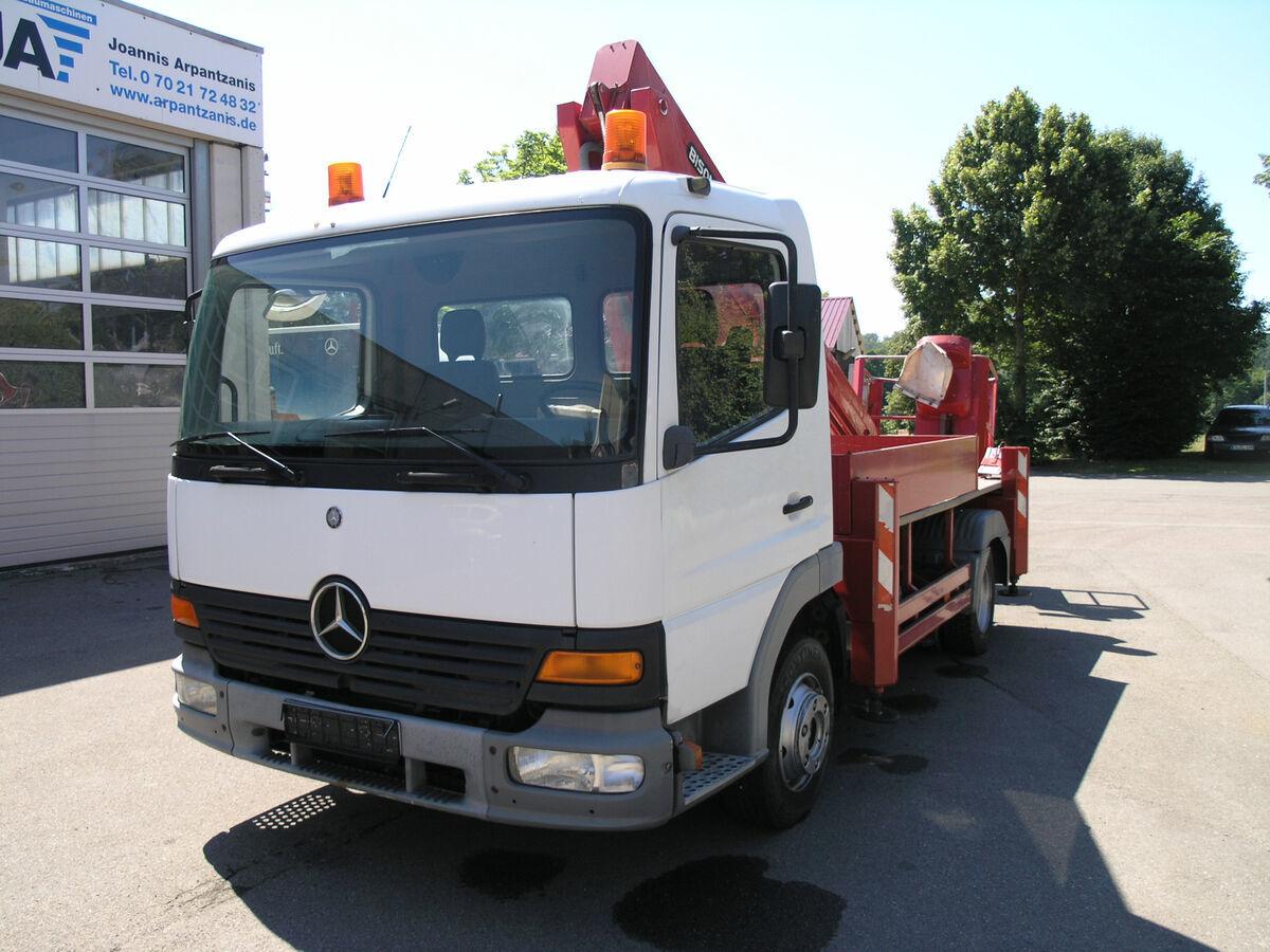 truck mounted aerial platform Mercedes-Benz Atego 815 Hubsteiger PALFINGER 19 m