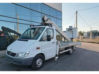 Truck mounted aerial platform Mercedes-Benz Sprinter with platform Multitel 160 ALU 16m