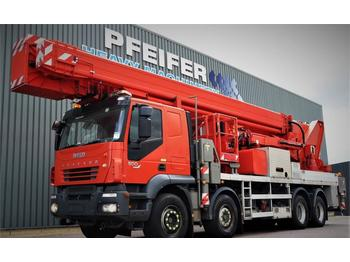 Truck mounted aerial platform Multitel J2-365 TA 8x4x4 Drive, 66m Working Height, 33m Rea