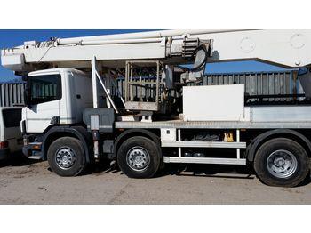 Truck mounted aerial platform Multitel J350TA