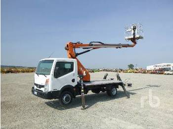 NISSAN CABSTAR 35.11 w/2008 Lion Lift GT18-12 - truck mounted aerial platform