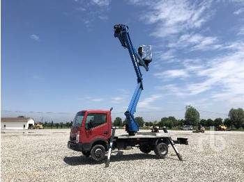 NISSAN CABSTAR w/Sequani ZED 20C - truck mounted aerial platform
