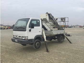 Nissan Isoli PNT205 Boom on Nissan Cabstar TL35 - truck mounted aerial platform