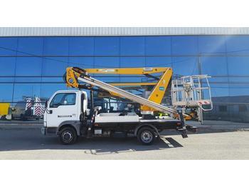 Nissan cabstar oilandsteel 21m versalift-france elevateur  - truck mounted aerial platform
