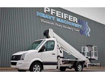 Truck mounted aerial platform Ruthmann TB270.3 Driving Licence B/3. Volkswagen Crafter TD