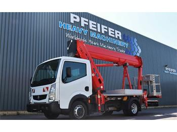 Truck mounted aerial platform Ruthmann TBR220 Also Available For Rent, Driving Licence B/