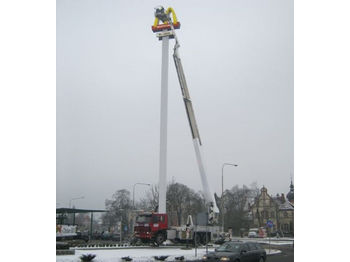 Truck mounted aerial platform SCANIA SIMON SNORKEL ST 300